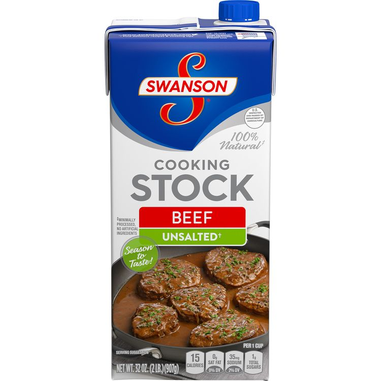 Swanson® Unsalted Beef Stock