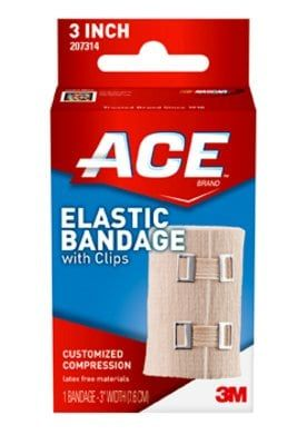 ACE™ Brand Elastic Bandages with Clips