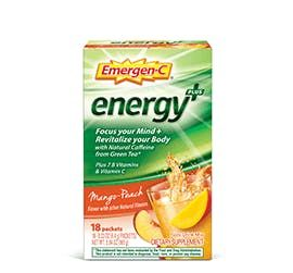 Emergenc Energy Plus Fizzy Drink Mix Mango Peach