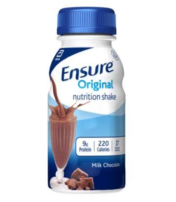 Ensure Nutrition Shake, Original Milk Chocolate, 8 fl oz