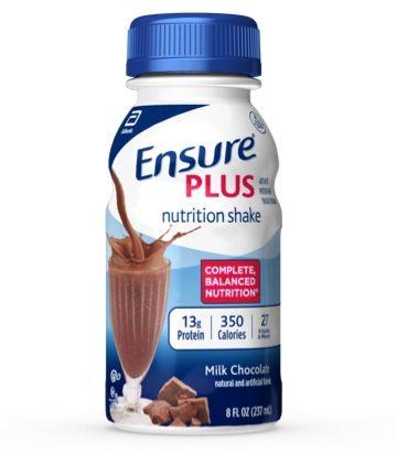 Ensure Plus Nutrition Shake Milk Chocolate, 8 oz