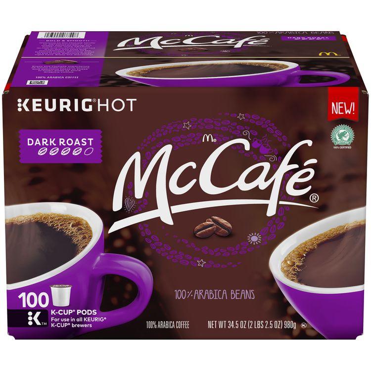 McCafe Dark Roast Keurig K Cup Coffee Pods