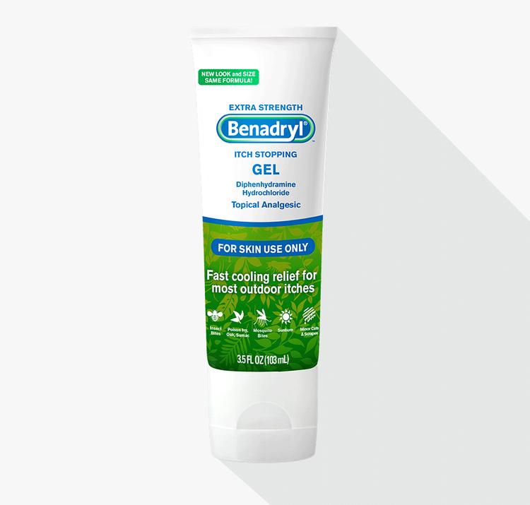 BENADRYL® Itch Stopping Gel Extra Strength