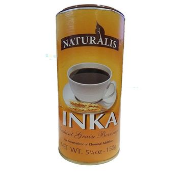 Naturalis Inka Instant Grain Coffee Beverage 5.25oz - 150g Can