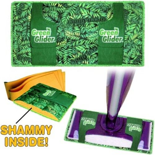 Green Glider Reusable Mop Pad