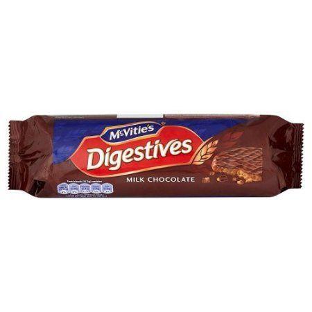 McVities Milk Chocolate Biscuit, 10.5 OZ (Pack of 15)