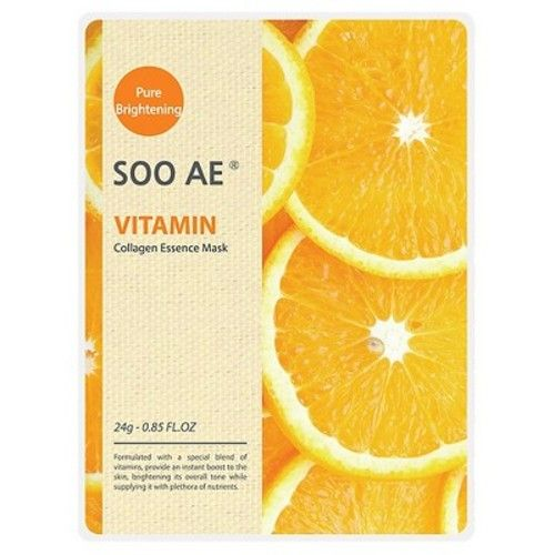 Soo Ae® Collagen Essence Mask Vitamin - 5 count