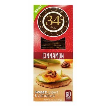 34 Degrees Cinnamon Crispbread, 5.3 Ounce (Pack of 2)