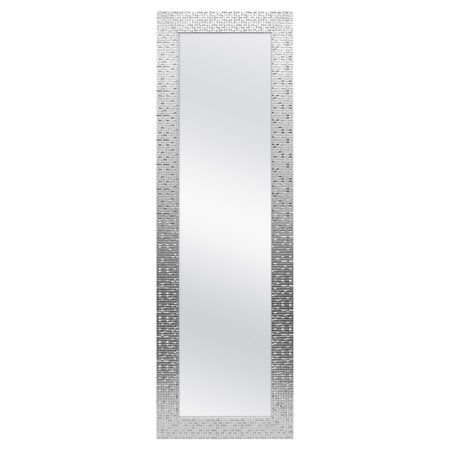 """Better Homes & Gardens 17"""" x 53"""" Tile Over The Door Mirror"""