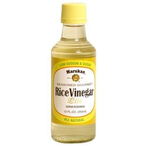 Marukan Seasoned Gourmet Rice Vinegar Lite (Pack of 3)
