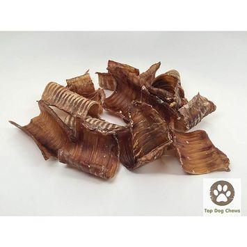 USA Beef Trachea Bites 1 Pound Bag - Top Dog Chews