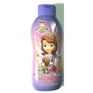 Disney Sofia The First Bubble Bath Large 20 Oz Royal Berry