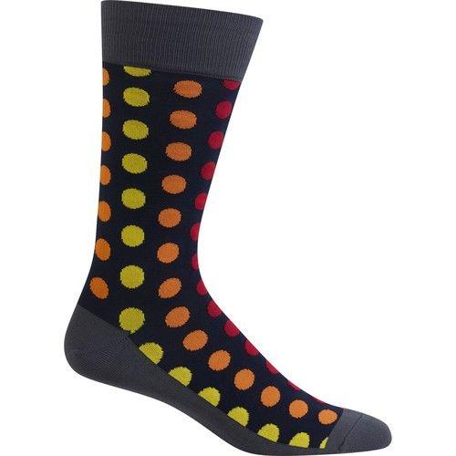 Men's Socks, Dot-Print