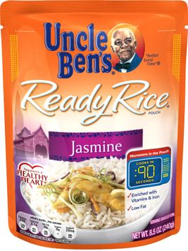 Uncle Ben's® Ready Rice, Jasmine, 8.5 Oz. Pouch
