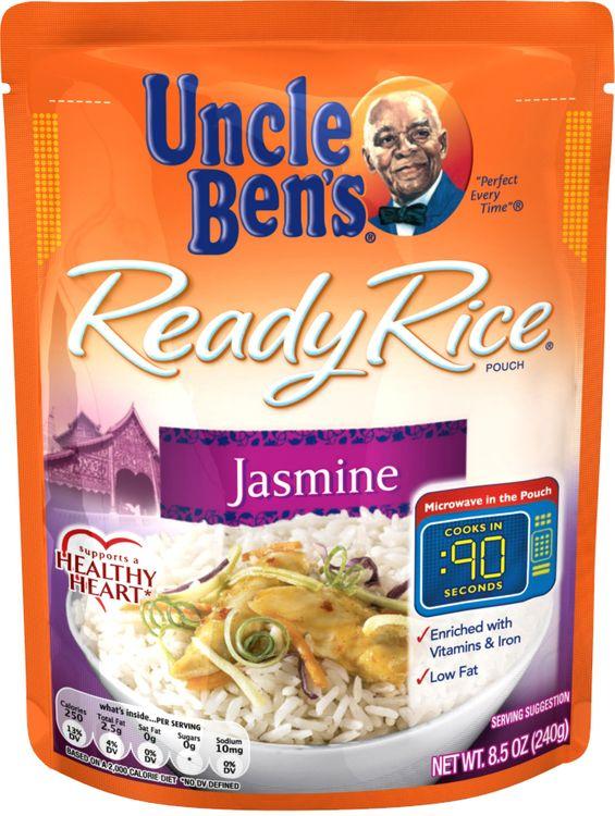 Uncle Ben's® Ready Rice, Jasmine, 8.5 Oz. Pouch