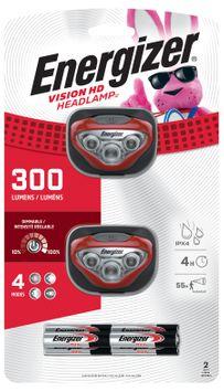 Energizer Vision HD+ 200 LED Headlamp (Red)
