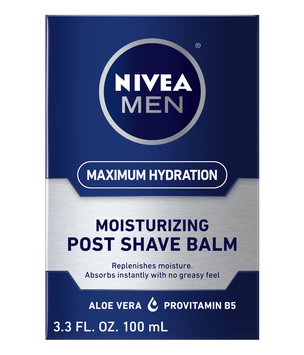 NIVEA Maximum Hydration Moisturizing Post Shave Balm