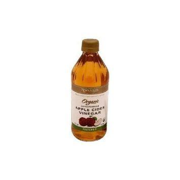 Spectrum Organic Filtered Apple Cider Vinegar 16 Oz(Pack of 3)