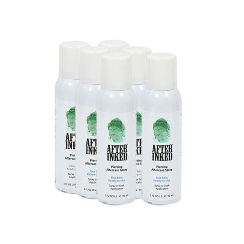 After Inked Piercing Aftercare Spray- 3 OZ - (6 Pieces)