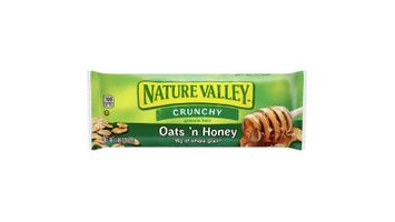 Nature Valley™ Crunchy Granola Bars Oats 'n Honey (Double Bar) (28 ct) 1.49 oz