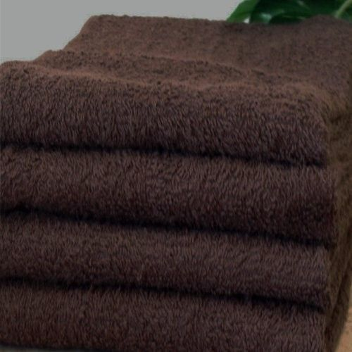 Salon Simplicity Collection: Set of 12 (dozen) Spa / Salon Towels; 100% Eco-Friendly Cotton Terry, Color: Chocolate Brown by eLuxury