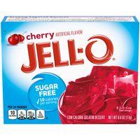 Jell-O Sugar Free Cherry Instant Gelatin Mix