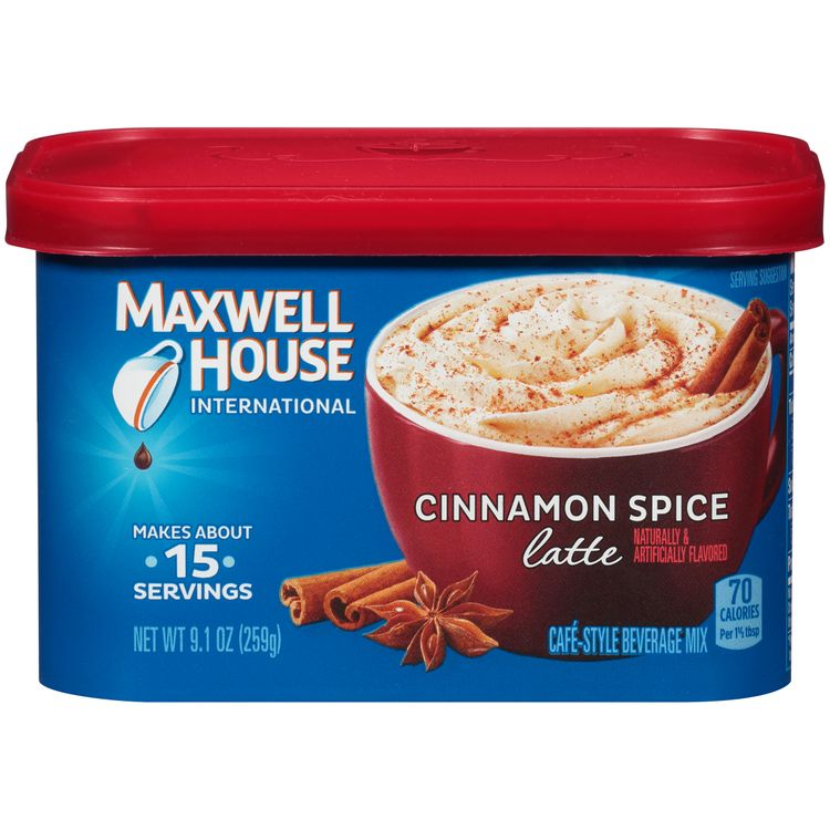 Maxwell House International Cinnamon Spice Coffee