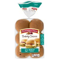 Pepperidge Farm® Bakery Classics Wheat Slider Buns, 12-Pack Bag