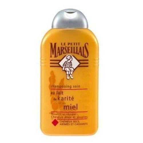 Le Petit Marseillais Hair Shampoo with Shea Butter and Honey 250ml (8.4fl.oz) Made in France