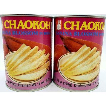 Chaokoh Banana Blossom in Brine 2 Pack