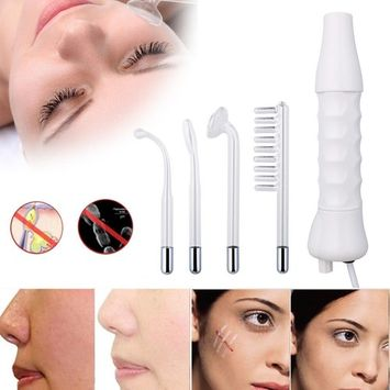 Facial Blackhead Removal Tool,Mailat Electrode Glass Tube High Frequency Instrument Skin Facial Spa Salon Machine