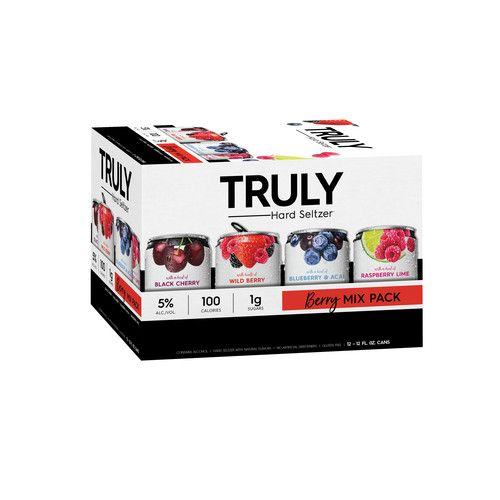 Truly Spiked Sparkling Berry Mix 12 Pack 12 Fl Oz Cans Reviews 2021