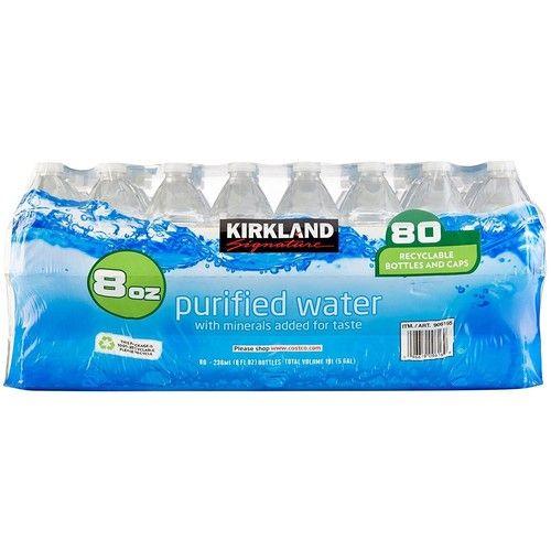 Kirkland Signature Premium Drinking Water 8 Oz