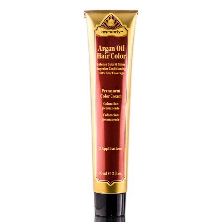 One 'N Only Argan Oil Permanent Color Cream - 3 oz - 5CH Light Chocolate Brown