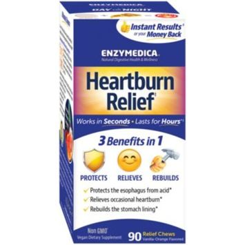 Heartburn Relief for Occasional Heartburn - Vanilla-Orange (90 Chews)