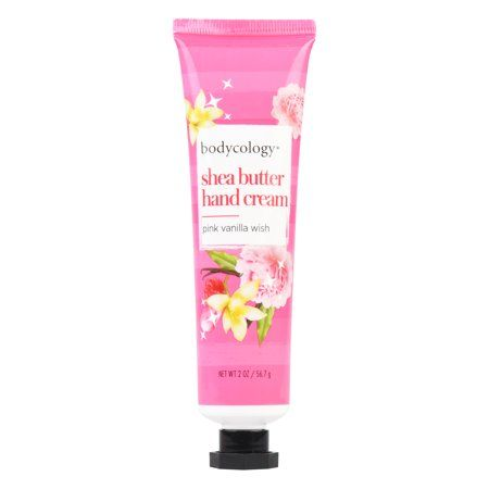 Bodycology Pink Vanilla Wish Hand Cream, 2 oz.