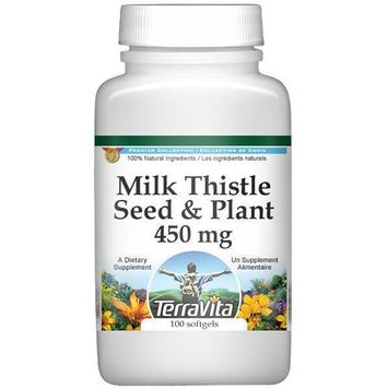 Milk Thistle Seed and Plant - 450 mg (100 capsules, ZIN: 512052)