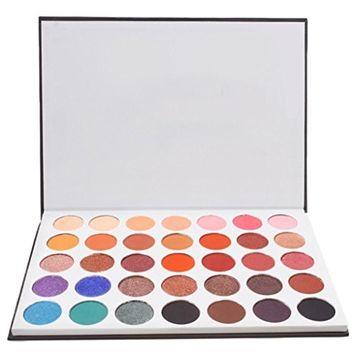 Binmer(TM) Women Lady 35 Colors Eye Shadow Makeup Cosmetic Shimmer Long Lasting Matte Eyeshadow Palette