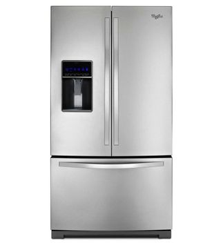 Whirlpool WRF736SDAM: 26 cu. ft. French Door Refrigerator with MicroEdge A Shelves