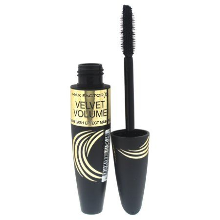 Velvet Volume False Effect Mascara Black by Max Factor for Women - 13.1 ml Mascara