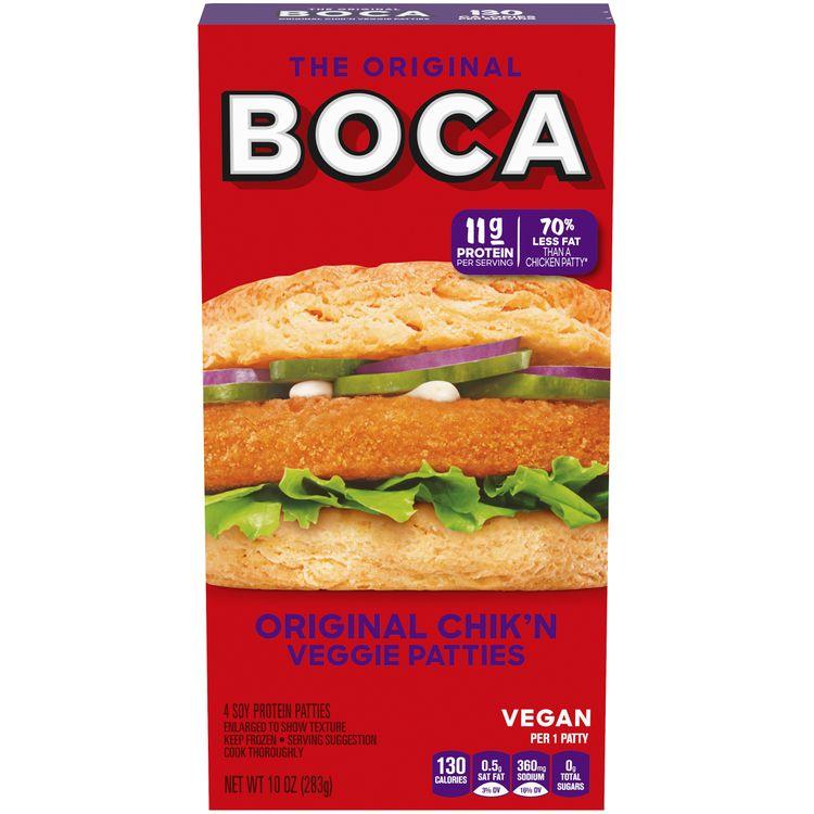 BOCA Original Chik'n Veggie Patties
