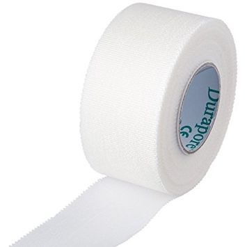 Durapore Medical Tape, Silk Tape - 1 in. x 10 yards - Each Roll - Pack of 3