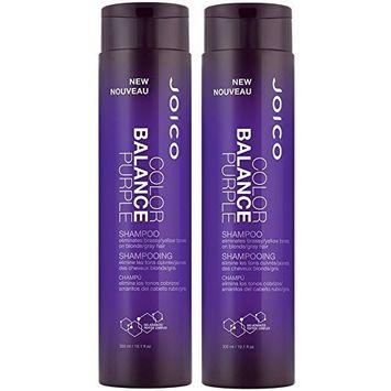 Joico Color Balance Shampoo Purple 10.1 Oz ( 2 Pack)