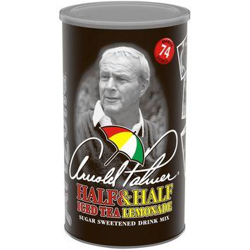AriZona Arnold Palmer Half and Half Iced Tea and Lemonade Drink Mix, 73 oz. Canister