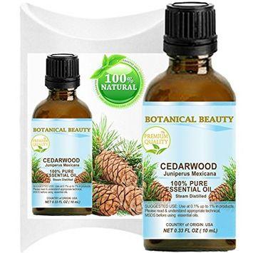 CEDARWOOD ESSENTIAL OIL. 100% Pure Therapeutic Grade, Premium Quality, Undiluted. 0.17 Fl.oz.- 5 ml.