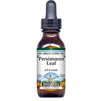 Persimmon Leaf Glycerite Liquid Extract (1:5) - Vanilla Flavored (1 oz, ZIN: 522834)