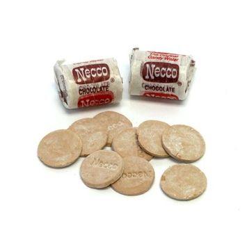 Necco Candy Chocolate Wafers - Mini Rolls
