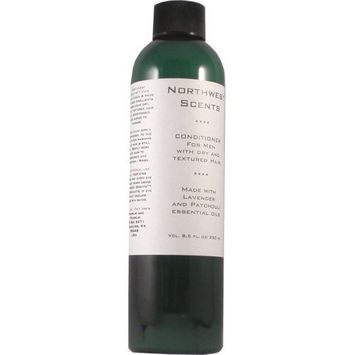 Northwest Scents Lavender and Patchouli Conditioner for Men with Dry, Coarse, and Highly Textured Hair - 8.5 oz bottle