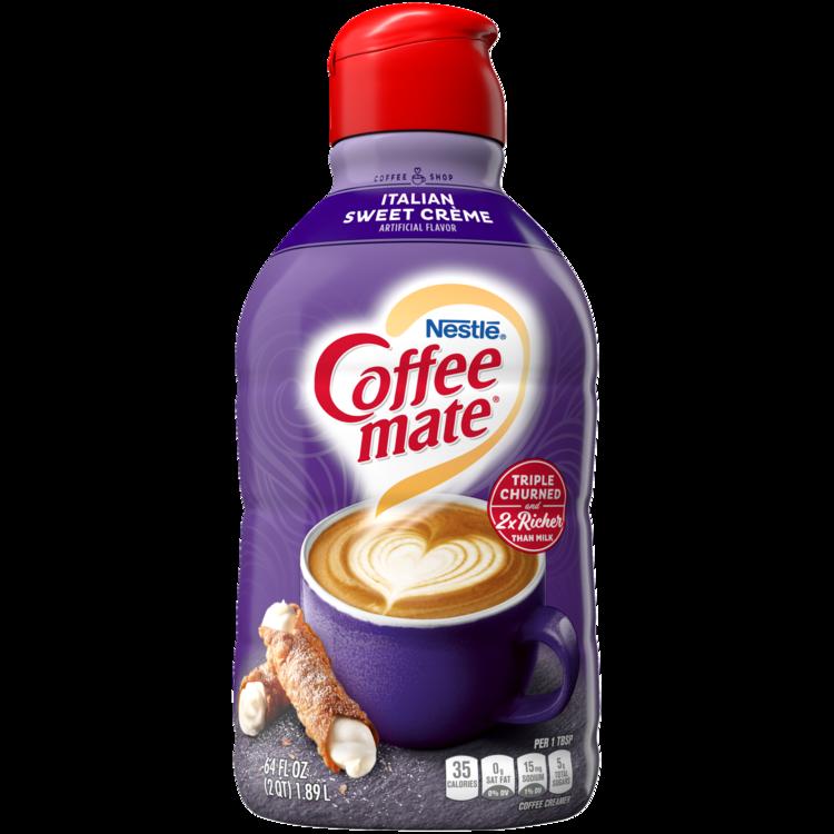 Coffee-mate Italian Sweet Crème Liquid Coffee Creamer