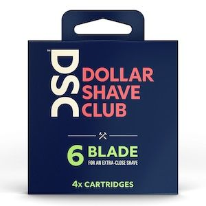 Dollar Shave Club 6-Blade Refill 4-pack